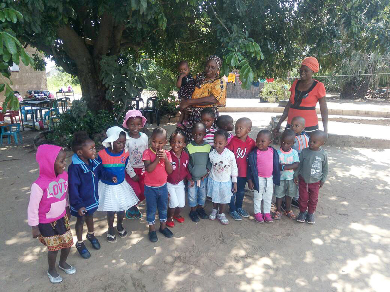 Good news on this Friday - the KAVIMBA pre-school project is starting