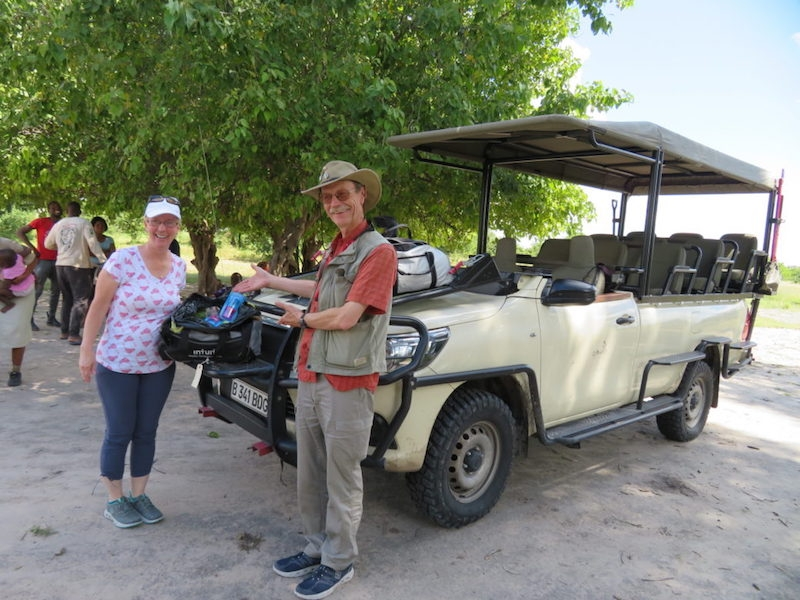Sango Safari Camp guests and Pack for a Purpose